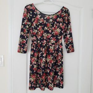 3/$25 Forever 21 Floral Dress, Small